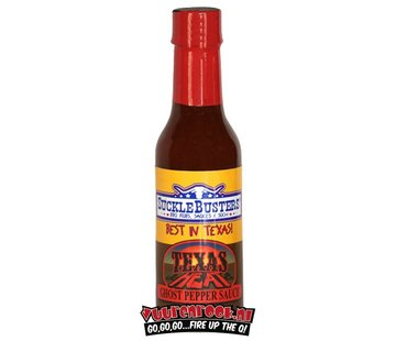 """SuckleBusters SuckleBusters """"Ghost"""" Pepper Sauce Super Hot! 5oz"""