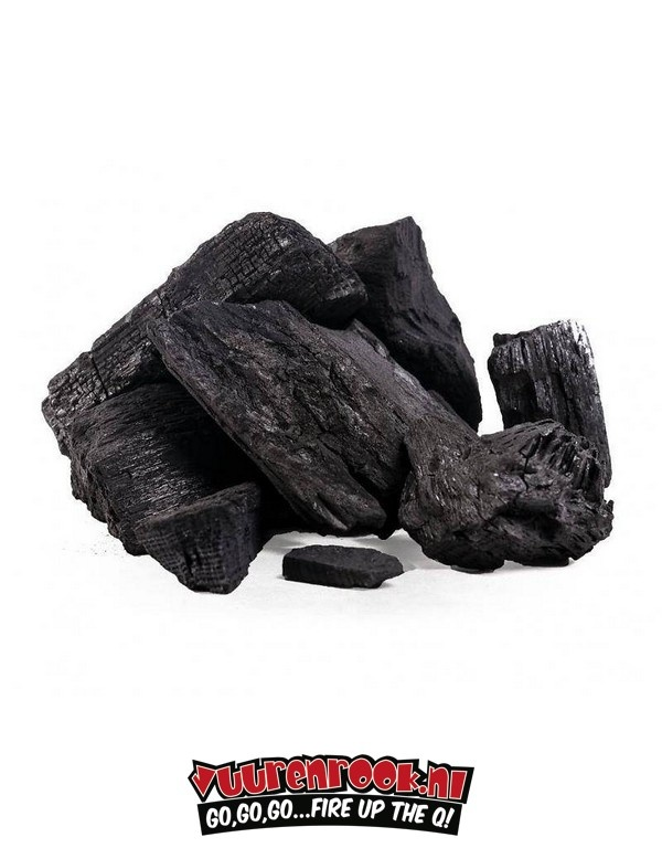 Dammers Vuur&Rook South African Premium Lump Charcoal 100% Black Wattle by Dammers DEAL 2x10 kg