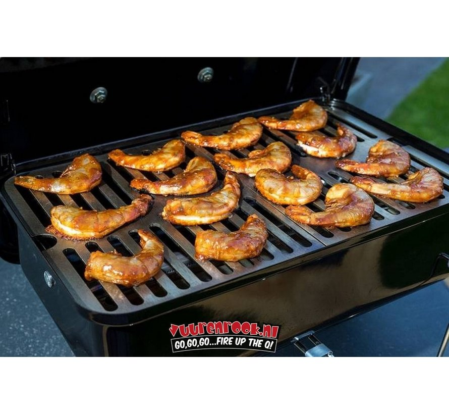Rooster Weber Bbq.Rvs Rooster Tbv Weber Go Anywhere Vuur Rook