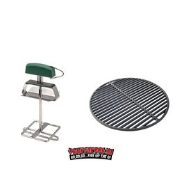 Big Green Egg Big Green Egg Gietijzeren Rooster + Grid Lifter Large