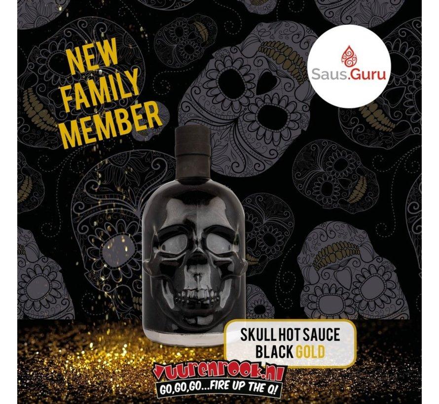 Saus.Guru Black Gold Edition Skull
