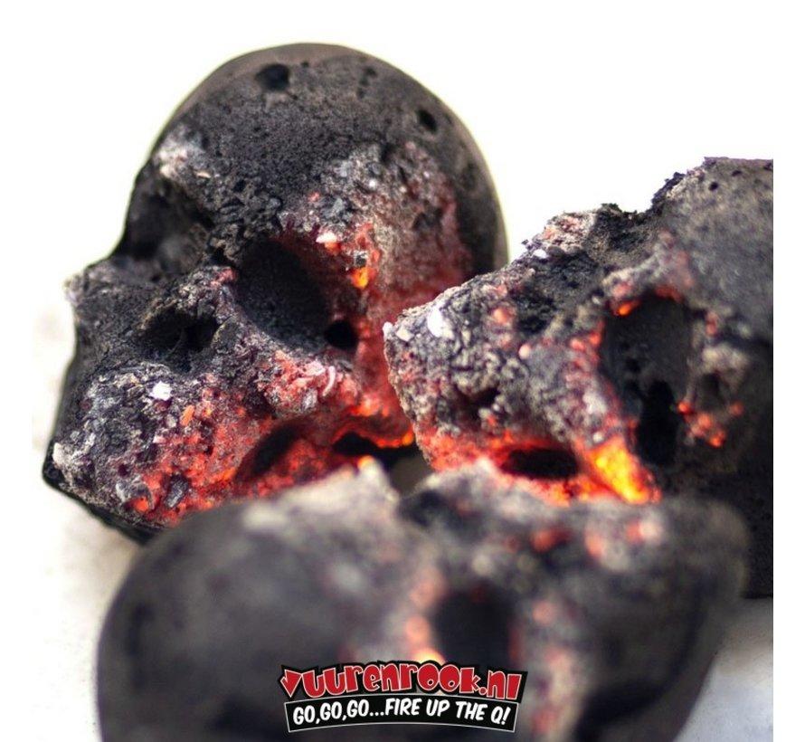 Skull Briquettes 15 pieces