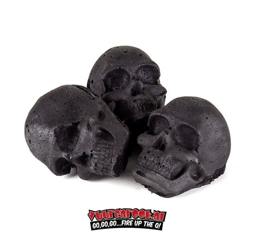 Skull Briquettes Gift set 3 pieces