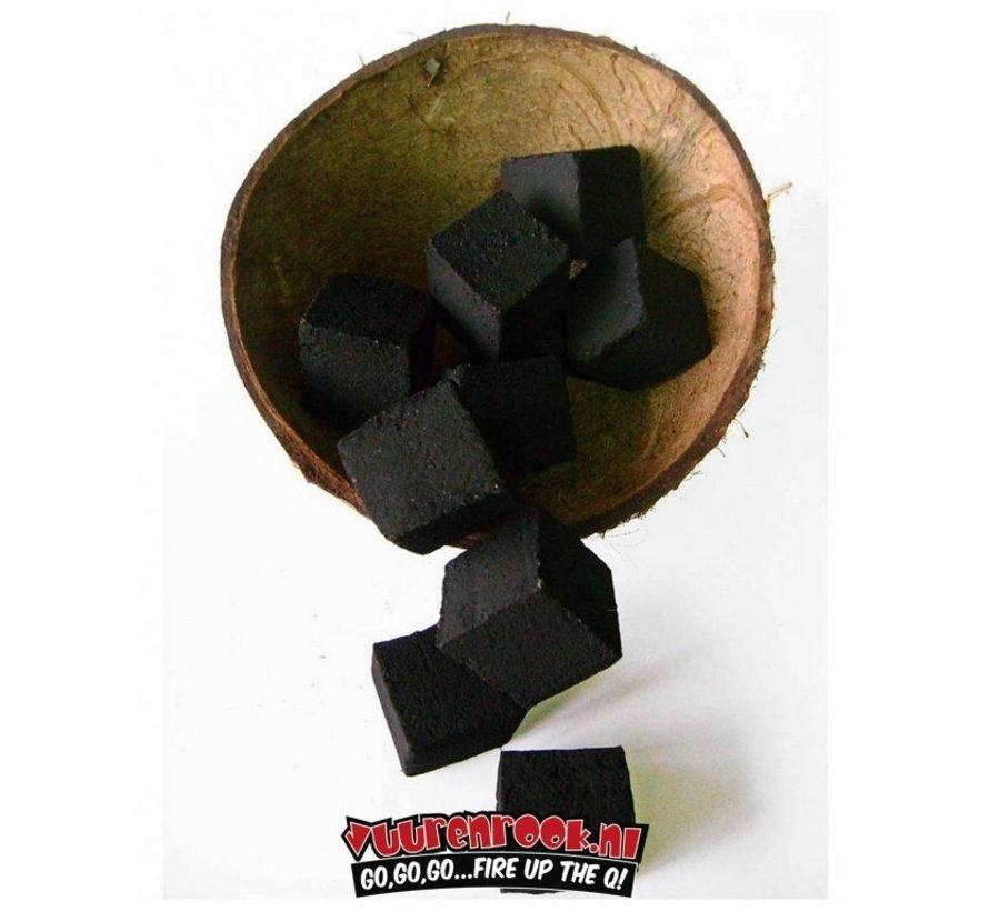 Flamy Kokosnussbriketts 10 kg By Cococha (Cubes)