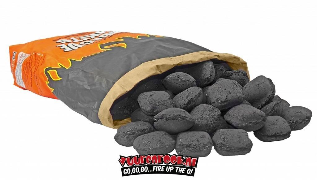 Pyrogrill Budget Pyrogrill Hartholzbriketts 10 kg (Pillow Shape)