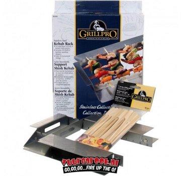 Grillpro Grillpro Stainless Steel Kebab Rack