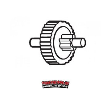 f-dick F-Dick Double Spur Gear Stainless