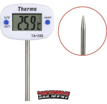 Kitchen Brothers Kitchen Brothers Digitale Vleesthermometer