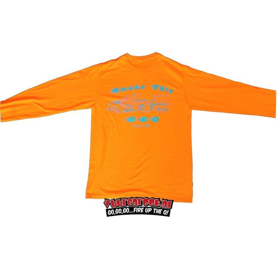 Smoke This BBQ Shirt Oranje