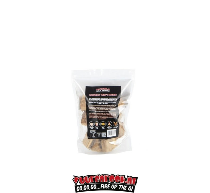 Vuur&Rook Low&Slow Cherry Chunks 1.5 kg