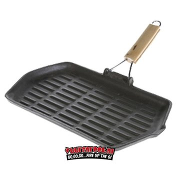 Mustang Mustang Cast Iron Grill Pan