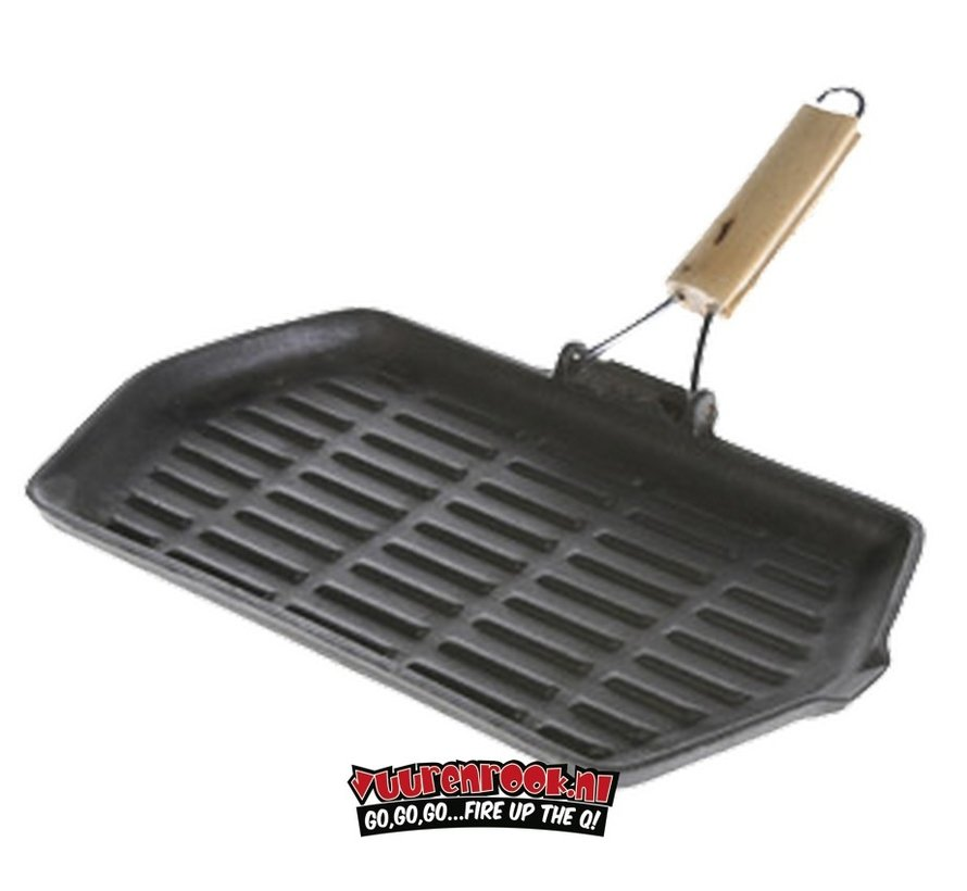 Mustang Cast Iron Grill Pan