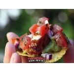 Mexikanische Nacho Snacks