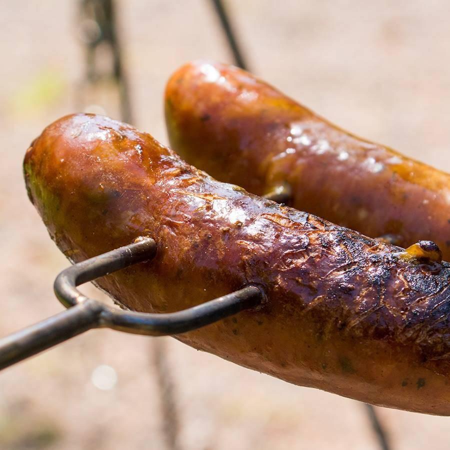 Home Made Bughouse Pulled Pork BBQ Worstjes 10 x 80 gram