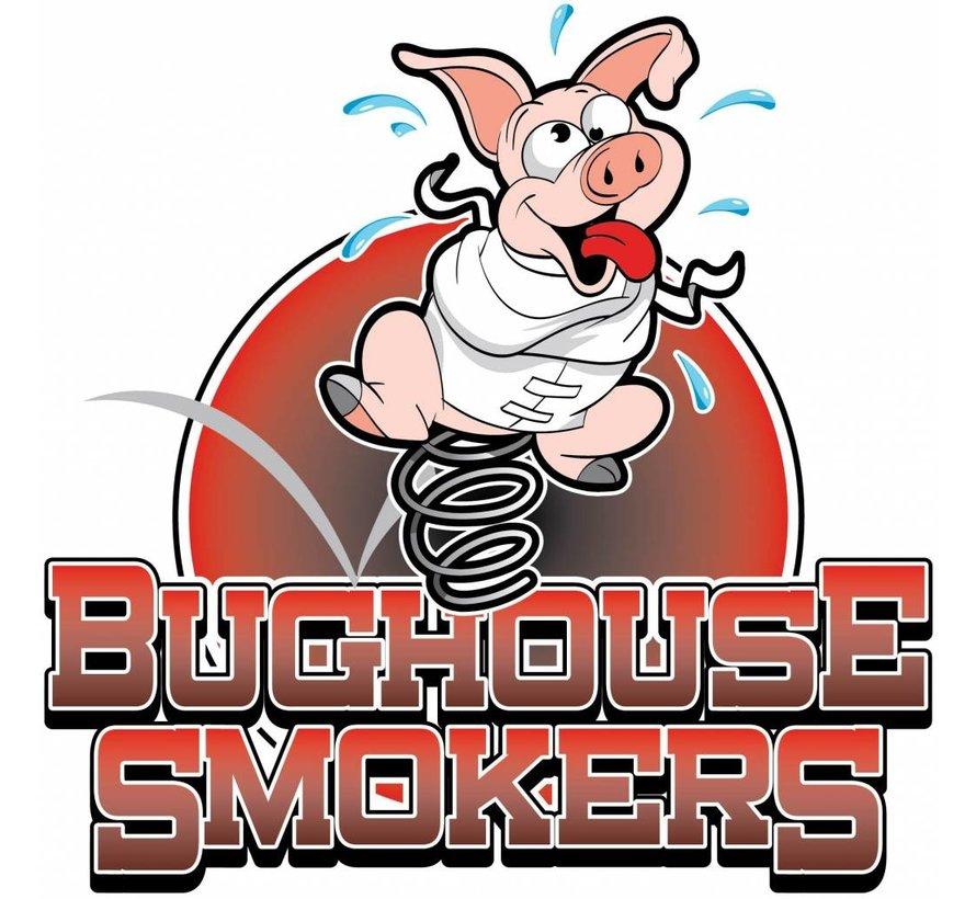 Bughouse Pulled Pork Grillwürste 10 x 80 Gramm