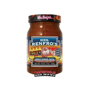 Mrs. Renfro's Mrs. Renfro's Ghost Pepper Salsa 16oz