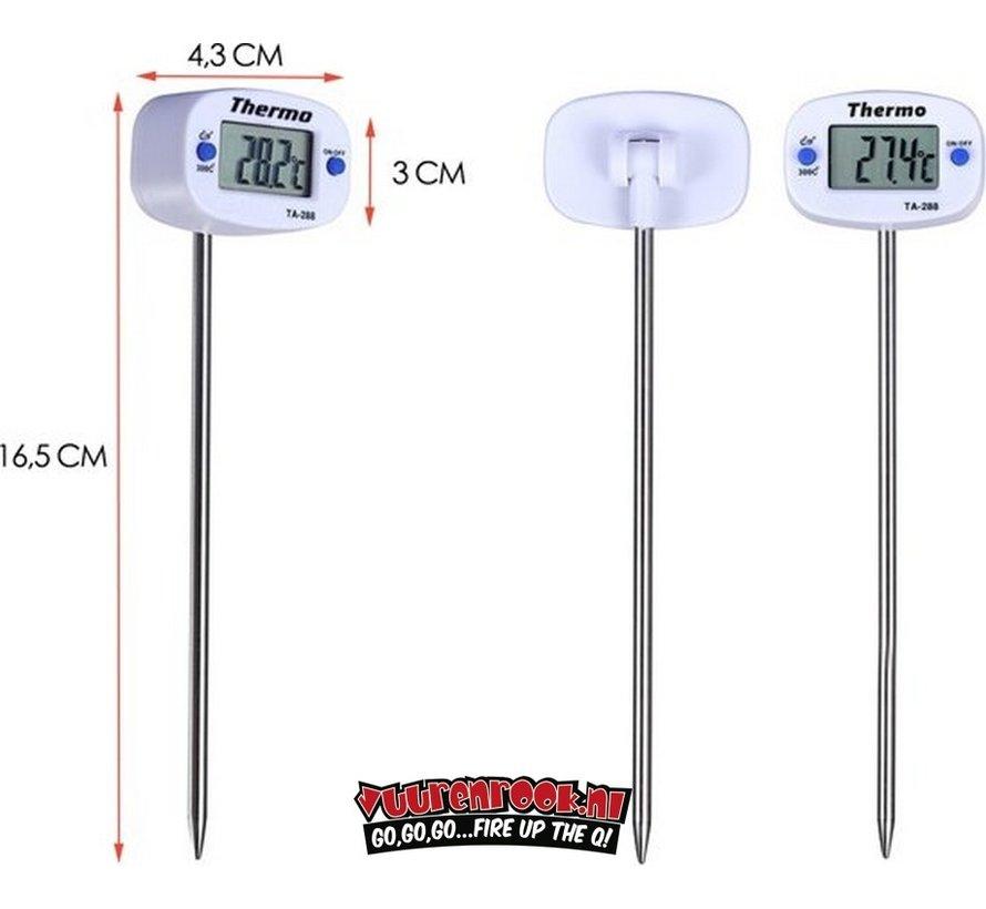 Vuur&Rook Digitale Kernthermometer