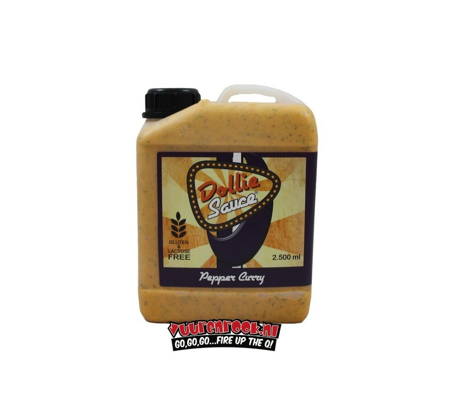 Dollie Sauce Pepper Curry XL 2500 ml