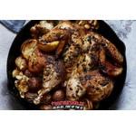 Spatchcock Smoked Chicken Roast