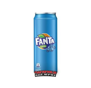 Fanta Fanta Blueberry 330ml