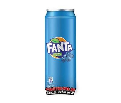 Fanta Fanta Blueberry 330ml