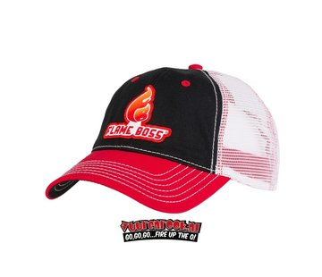 Flame Boss Flame Boss Cap Black / Red