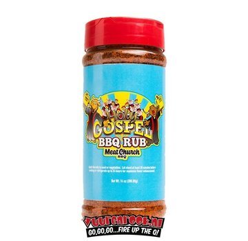 Meat Church Meat Church The Holy Gospel BBQ Rub 14oz