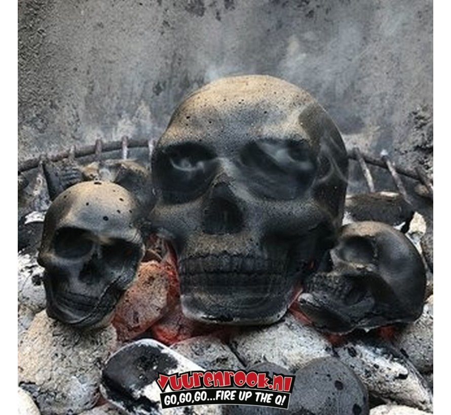Skull Briquette XL