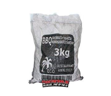 Vuur&Rook Hot Coconut Briketten Pillow Shape 3 kg