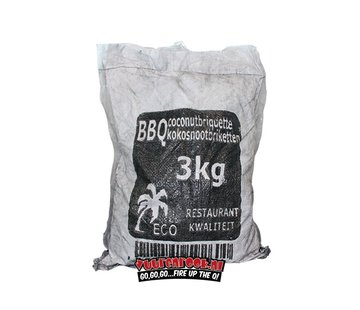 Vuur&Rook Hot Coconut Briketts Kissenform 3kg