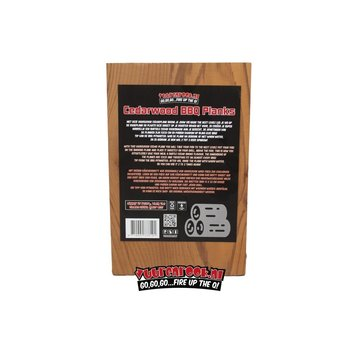 Vuur&Rook Vuur&Rook Cedar Plank 3 stuks 15x22 cm