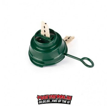 Feuerhand Colored Burner with Pit Feuerhand 276 Green