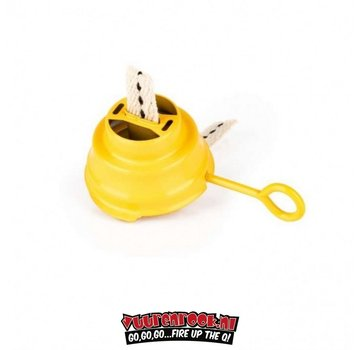 Feuerhand Colored burner with wick Feuerhand 276 Yellow
