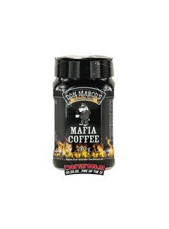 Don Marcos Don Marcos BBQ Mafia Coffee Rub 220 grams