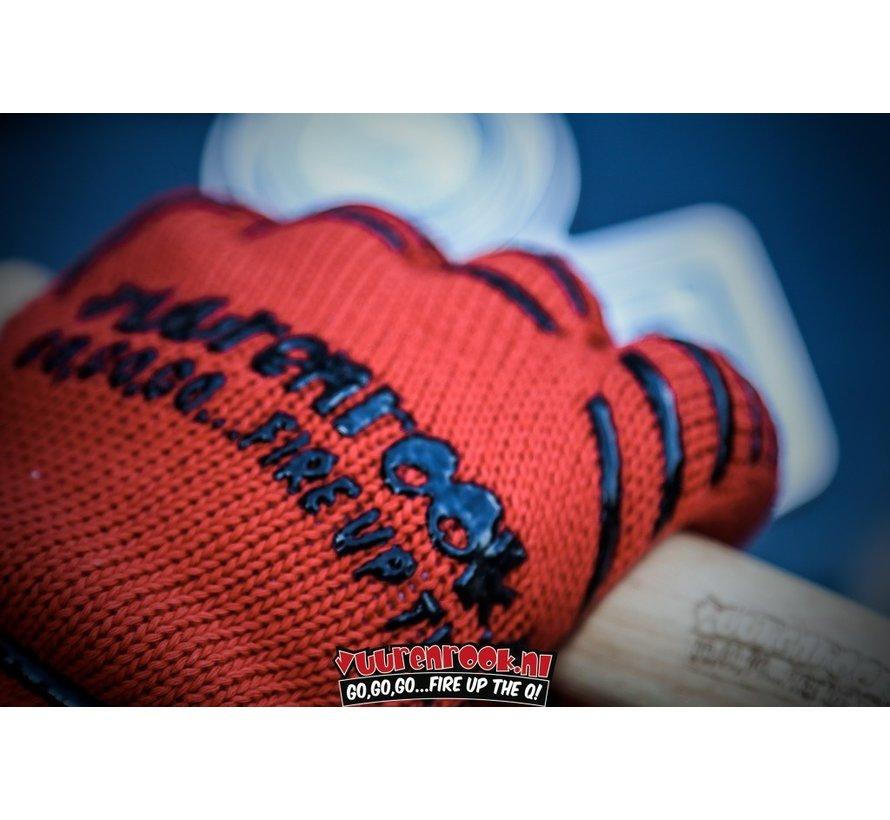 Vuur&Rook Hittebestendige BBQ Handschoenen 2 stuks