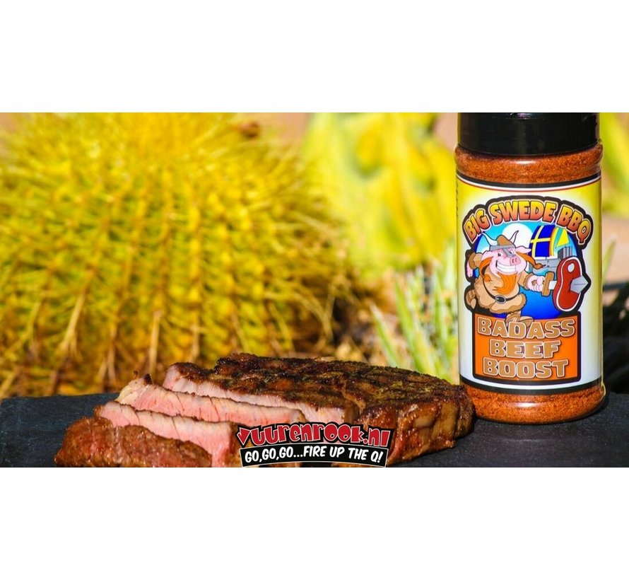 Big Swede BBQ 'Badass Beef Boost' BBQ Rub 12oz