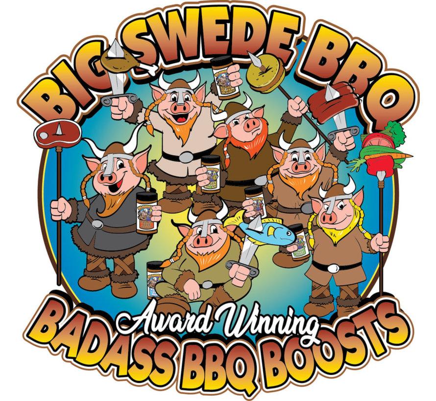 Big Swede BBQ 'Badass Bird Boost' BBQ Rub 12oz