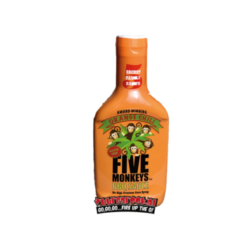 Five Monkeys Five Monkeys 'Orange Chili' BBQ Sauce 17oz