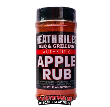Heath Riles Heath Riles BBQ Apple Rub 16oz