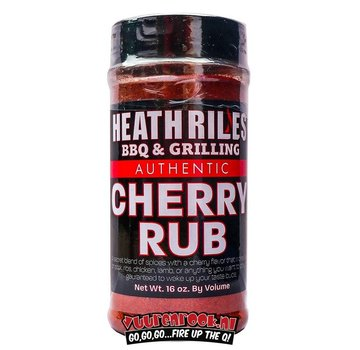 Heath Riles Heath Riles BBQ Cherry Rub 16oz