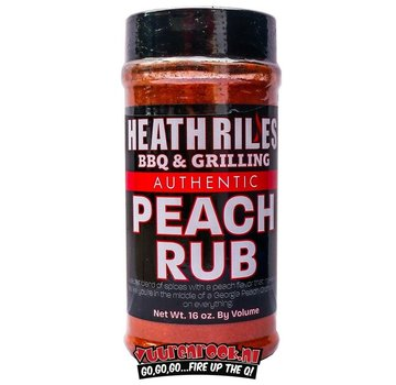 Heath Riles Heath BBQ Riles Peach Rub 16oz