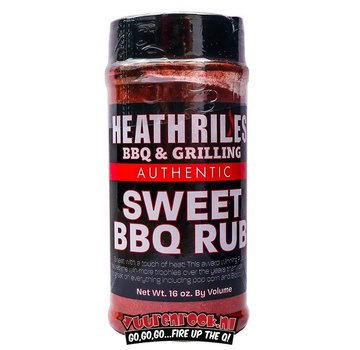 Heath Riles Heath Riles BBQ Sweet BBQ Rub 16oz