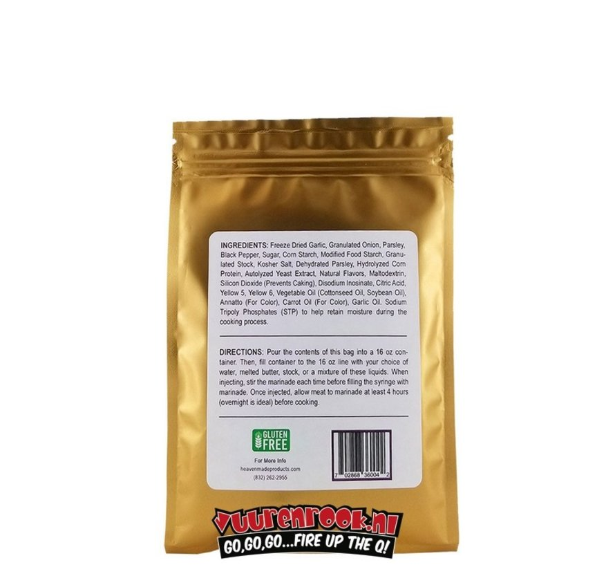 Heaven Made It's Incredible Injectable Marinade 2.7oz