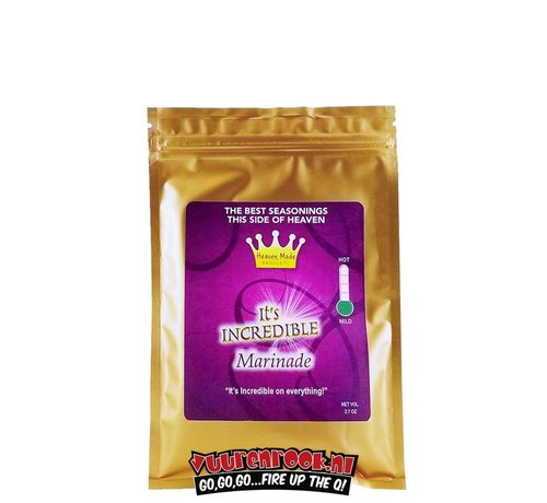Heaven Made Heaven Made It's Incredible Injectable Marinade 2.7oz