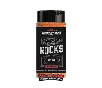 Whiskey Bent BBQ Whiskey Bent BBQ 'The Rocks' Red Meat Dry Rub 6oz