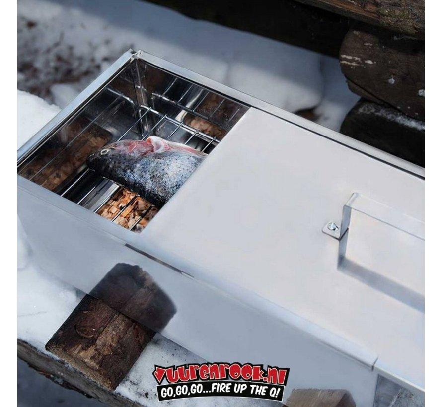 Mustang Smoker Rook Box RVS