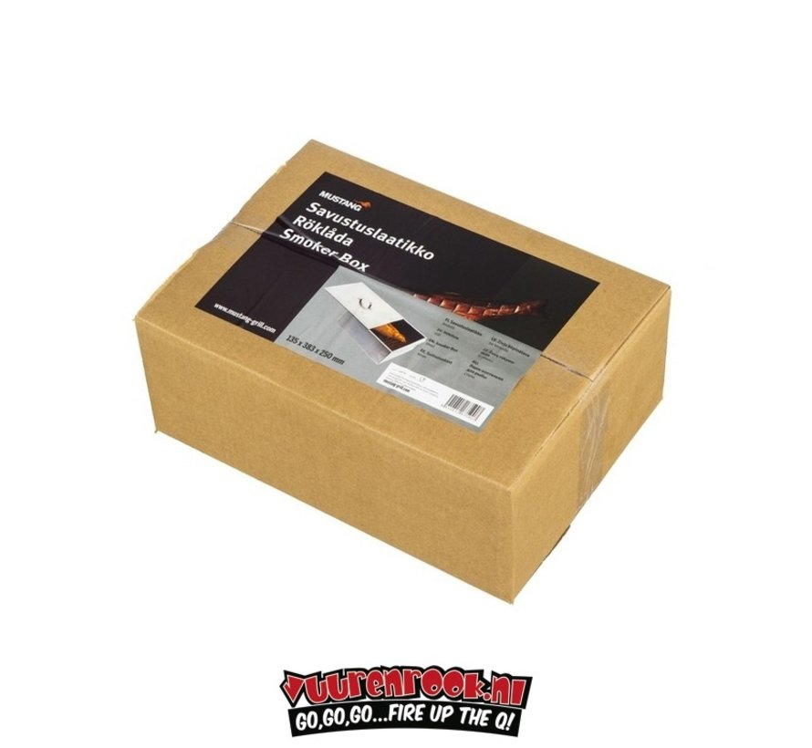 Mustang Smoker Rook Box Staal
