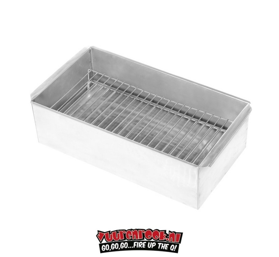 Mustang Smoker Rook Box Staal XL