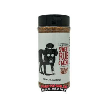 Sweet Swine Lambert's Sweet Rub o' Mine Texas Beef Rub 11oz