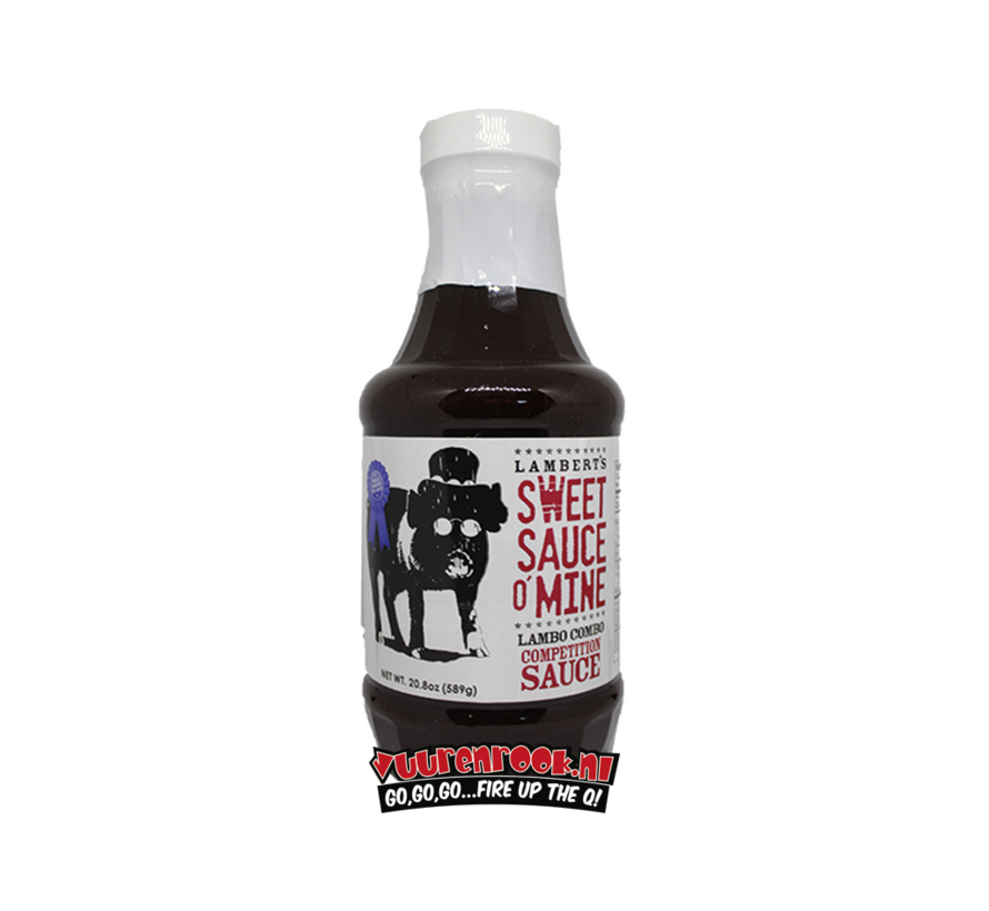 Lambert's Sweet Sauce O' Mine Lambo Combo Competition Barbecue Sauce